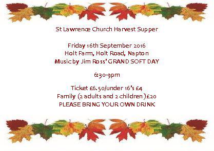 Napton Harvest Supper