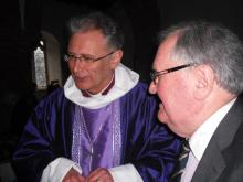 Bishop Christopher visits Wormleighton